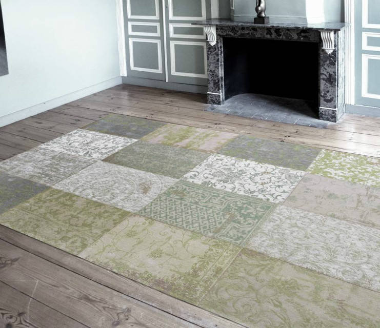vintage teppich patchwork accessoires bei m belhaus hamburg. Black Bedroom Furniture Sets. Home Design Ideas