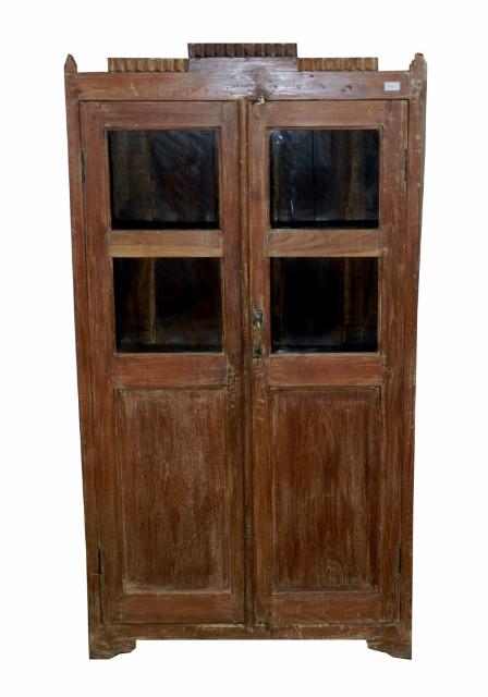 vitrine kolonialstil indisch schr nke vintage m bel. Black Bedroom Furniture Sets. Home Design Ideas