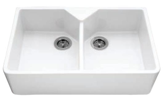 weißes Waschbecken