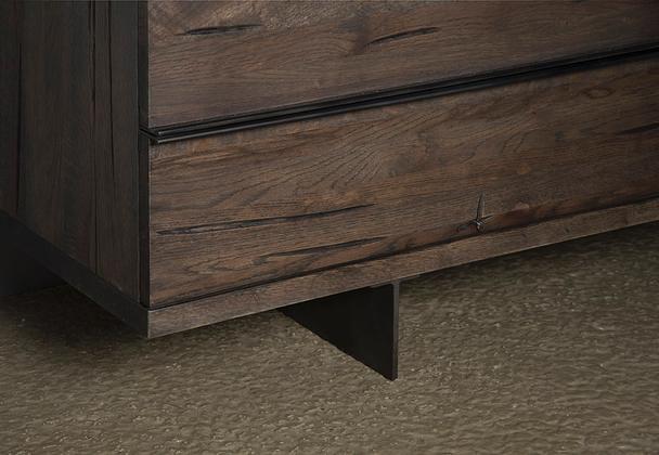 wohnzimmerschrank drift oak eiche massiv schr nke industrielle m bel bei m belhaus hamburg. Black Bedroom Furniture Sets. Home Design Ideas